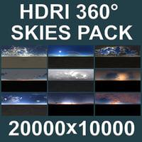 HDRI 9 Skies Pack