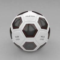 3d soccer ball soccerball