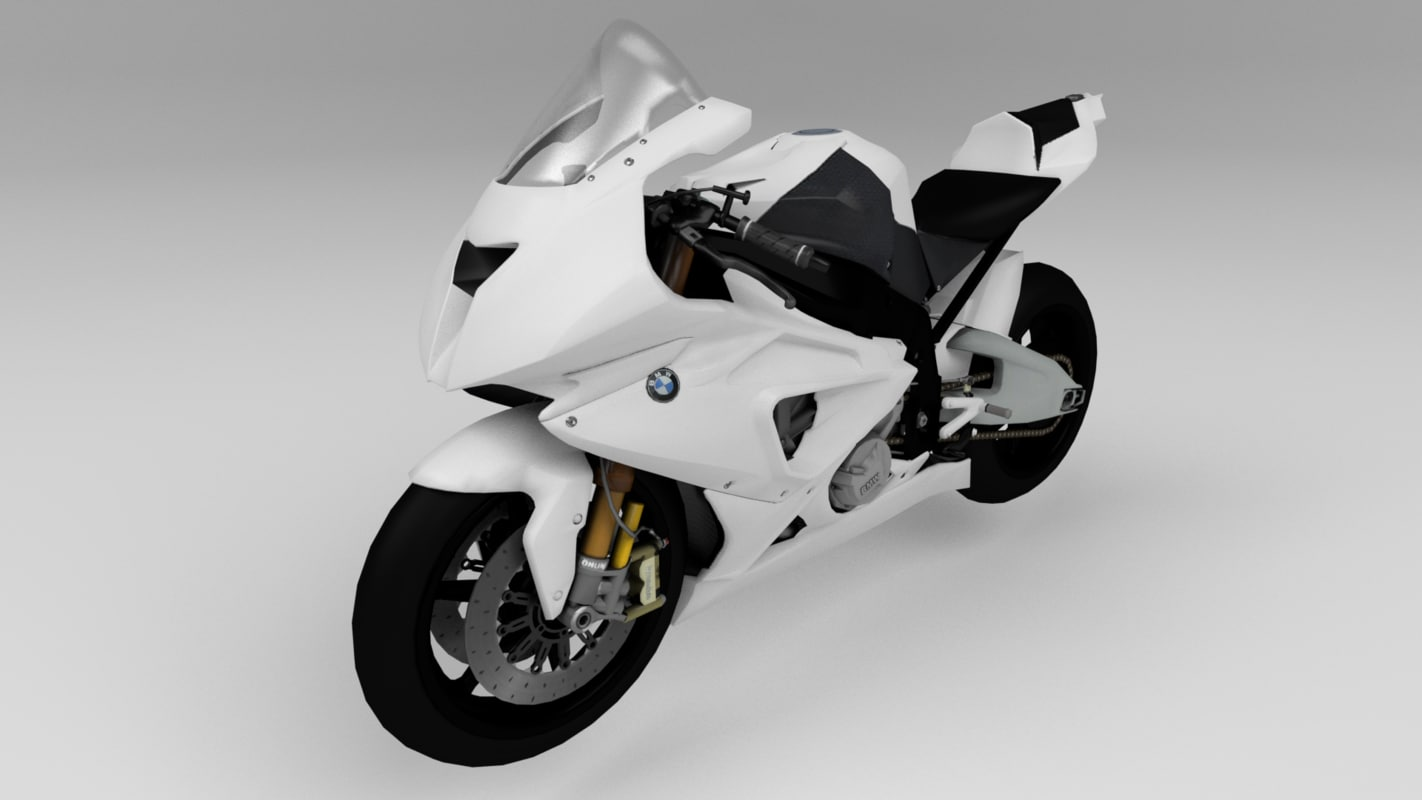 3d model motorcycle sportbike