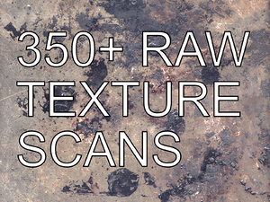 Raw Textures Pack - Wood, Leather, Stone, Paper, Paint, Raw Scans
