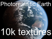 3D photorealistic earth 10k maps