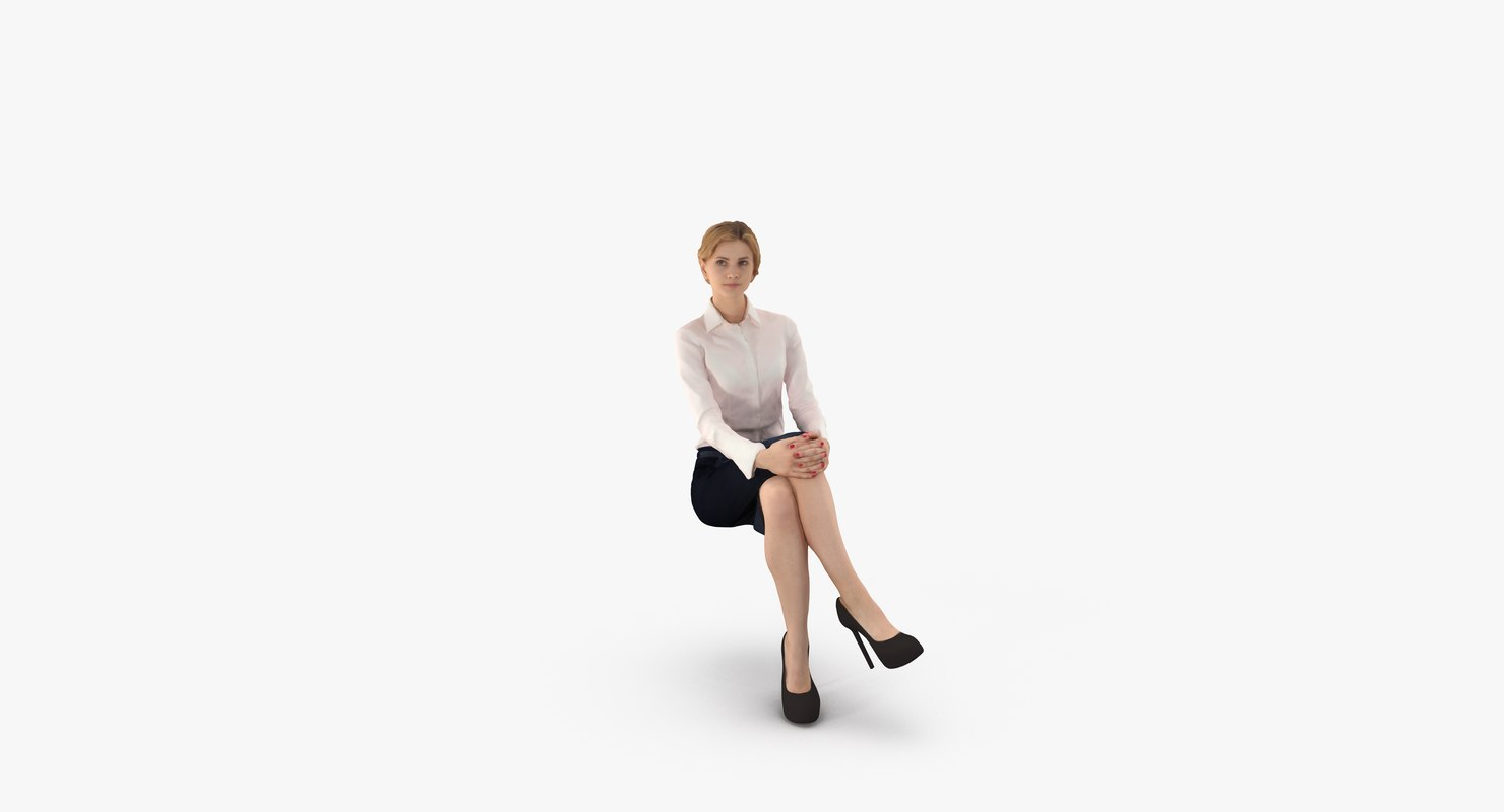 woman business 3d