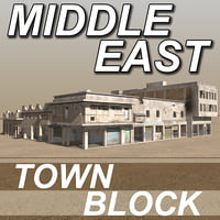 Arab - MIDDLE EAST - Slum Town Block