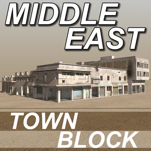 3dsmax middle east arab houses