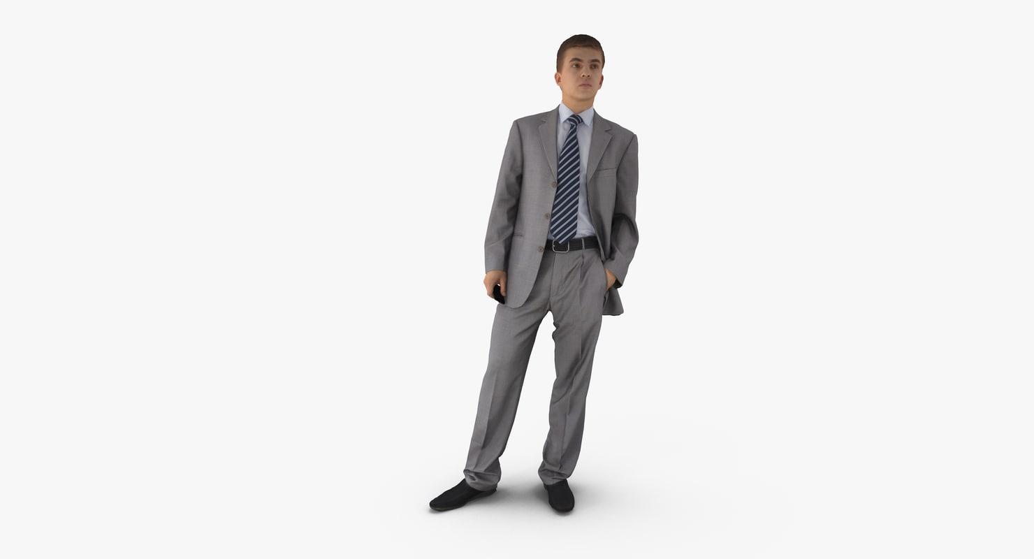 3d man business