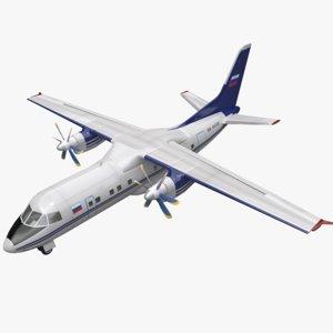 3d model an-140 an140 140
