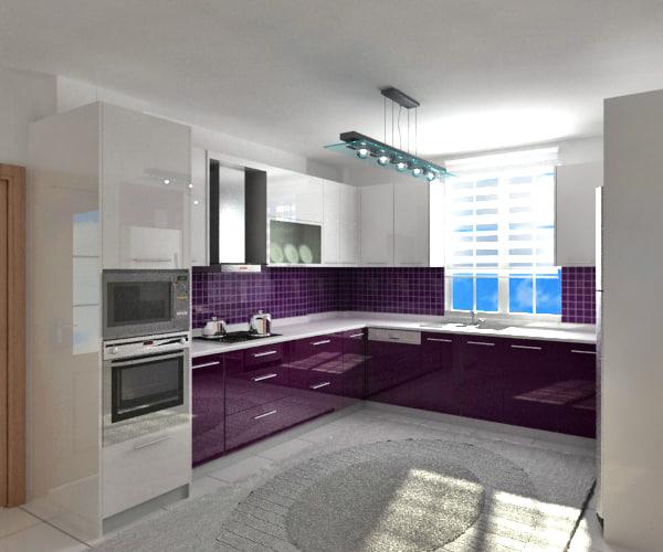 3d basic kitchen