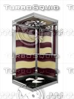 3d max modelarchitecture elevator