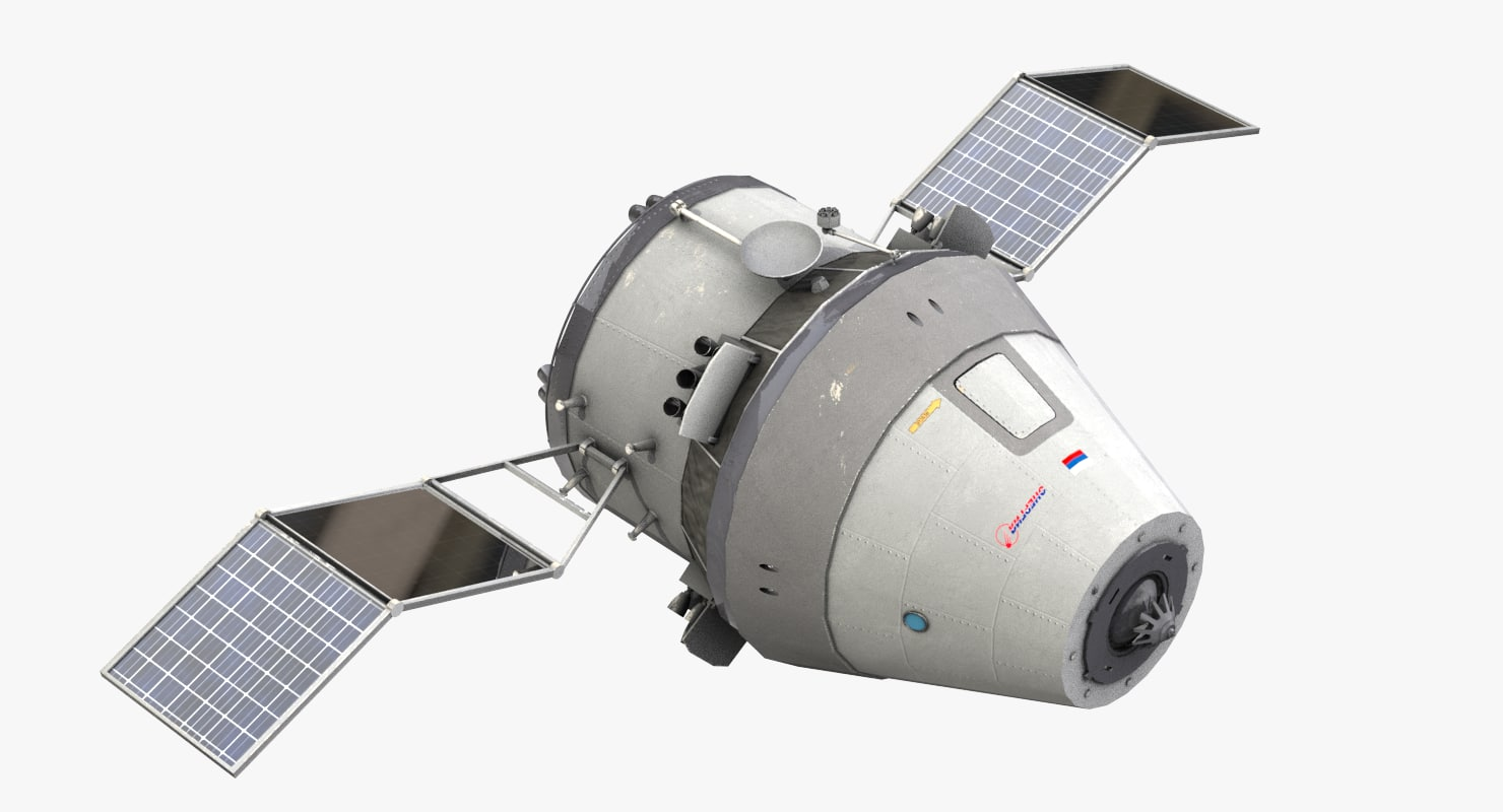 spacecraft federaciya 3d model