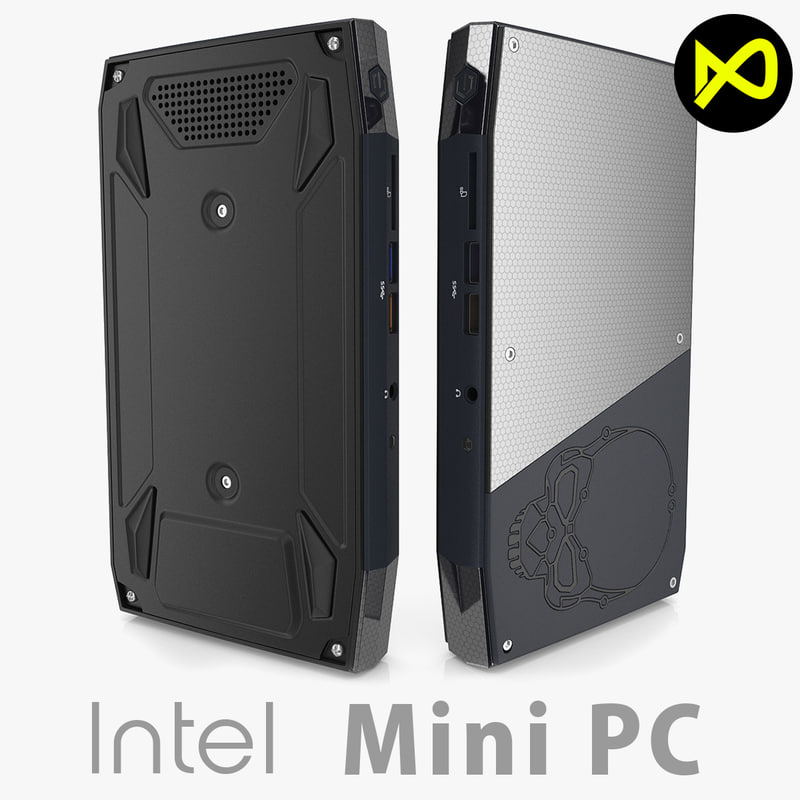 intel nuc nuc6i7kyk 3d model