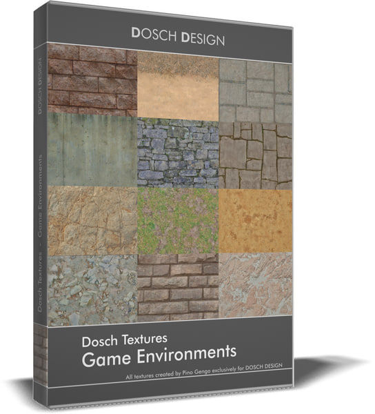 DOSCH Textures - Game Environments