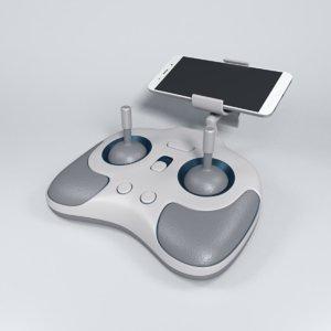 video joystick 3d model