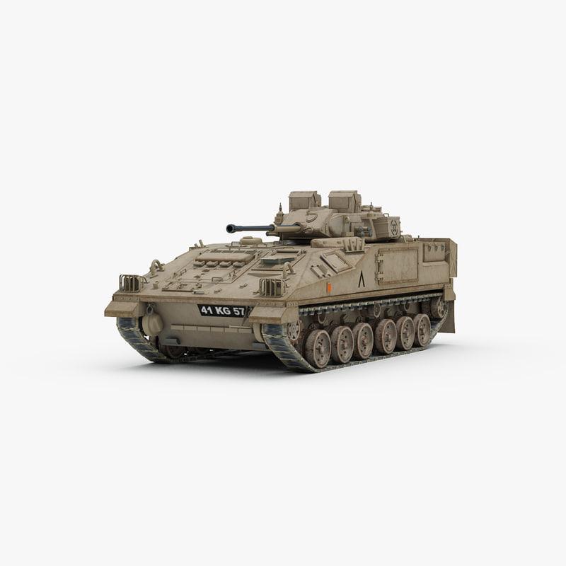 max british warrior tank