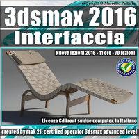 043 3ds max 2016 Interfaccia V43 Italiano Cd Front