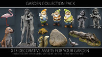 garden pack 3D model