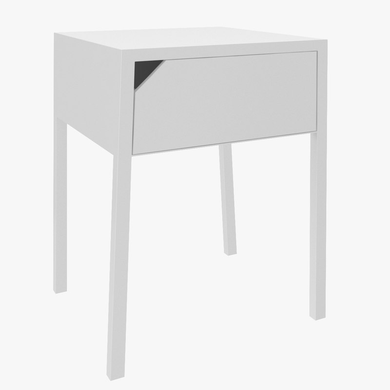 selje bedside table 3d model
