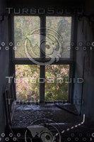 Abandoned Building - Broken window