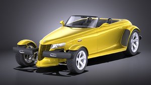 ymouth stock prowler 3D model