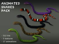 Animated Snakes Pack