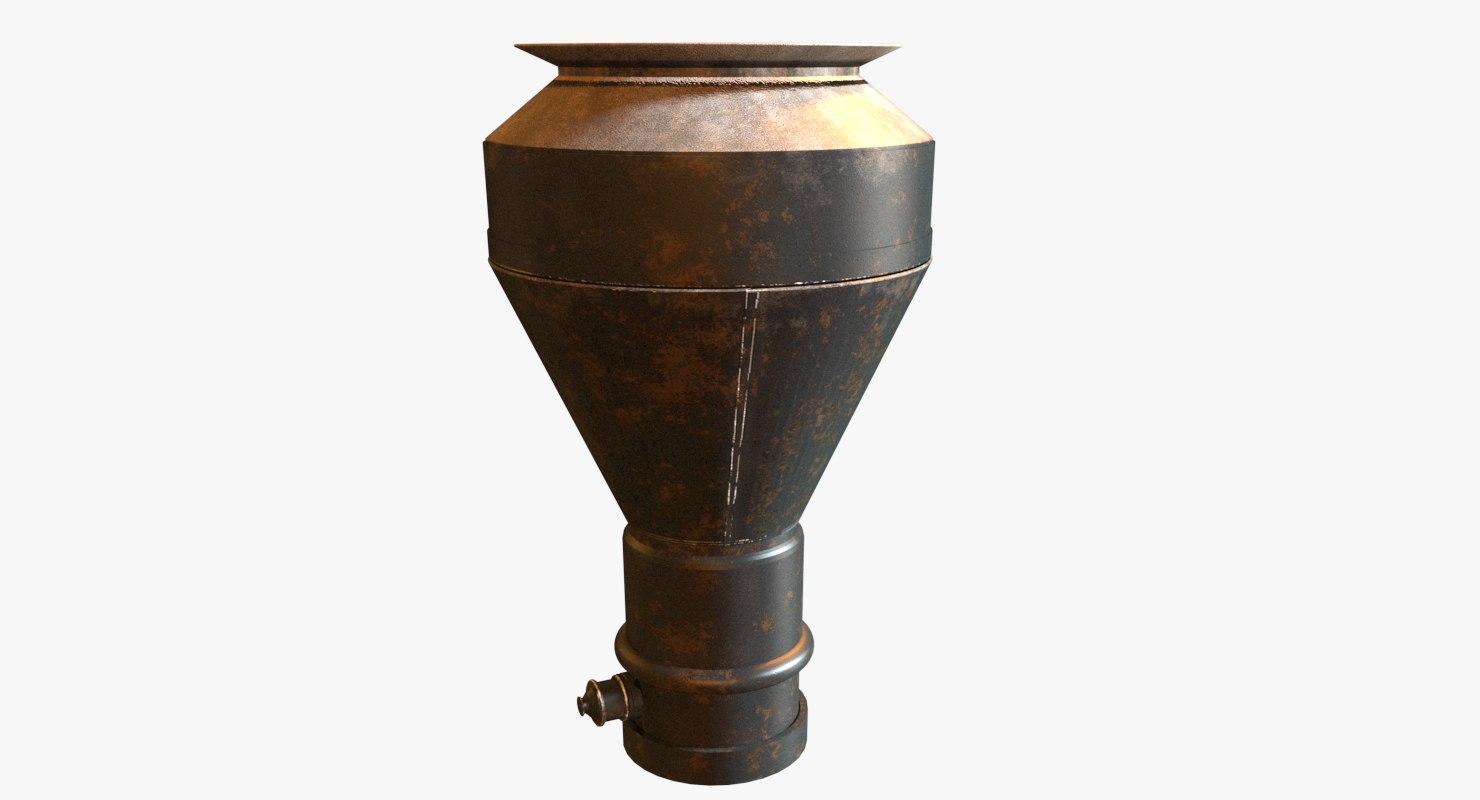 3d model chimney