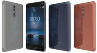Nokia 8 All Colors