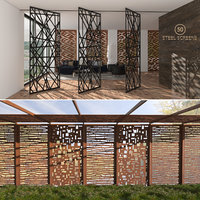 3d Laser-cut Steel Screens