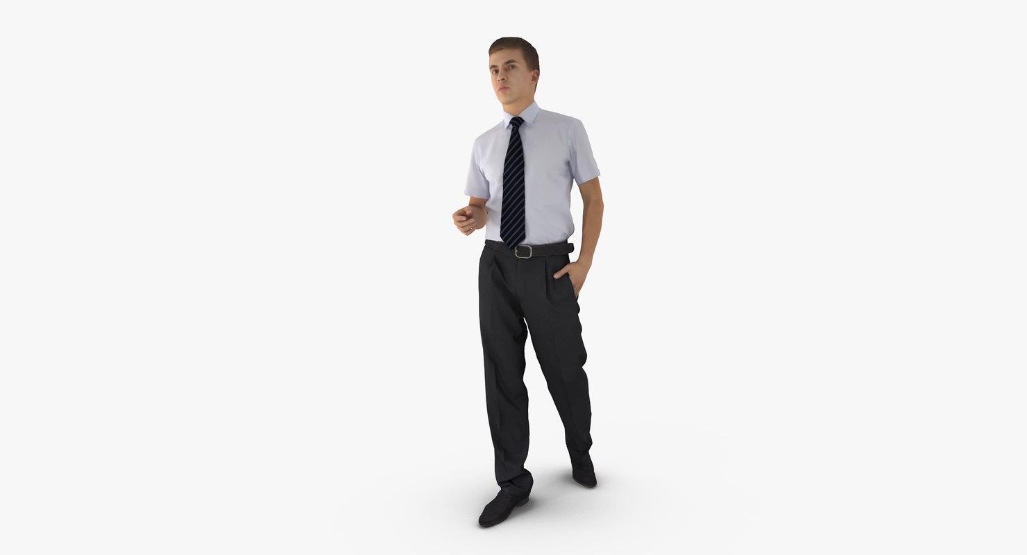 man business 3d max