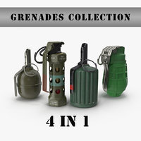 Grenades collection 1