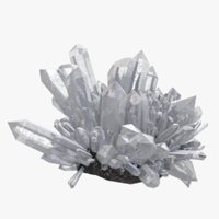 crystal realistic textured
