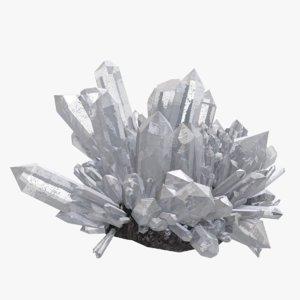 obj realistic crystal