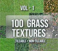 100 Grass Texturepack Vol-1