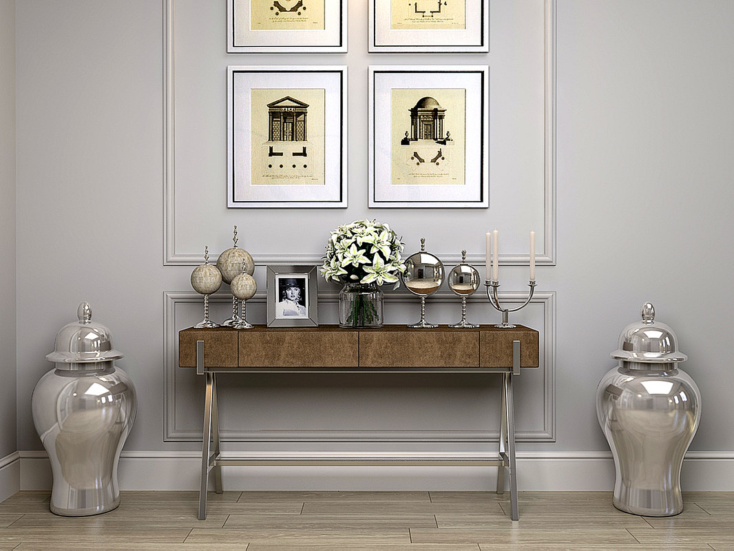 andrew martin sampson console table 3ds