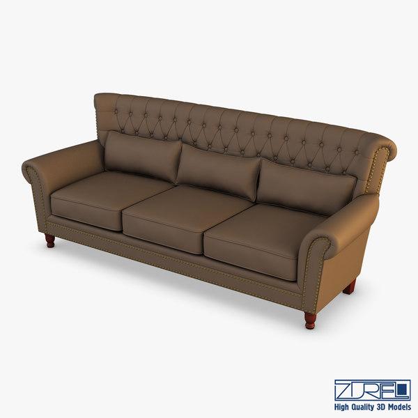 capitolina sopa sofa 3D model