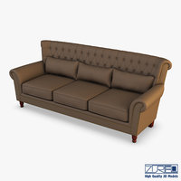 capitolina sopa sofa 3D model