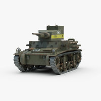 max tracks light tank m2