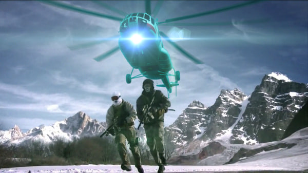 mi-17 helicopter 3D model