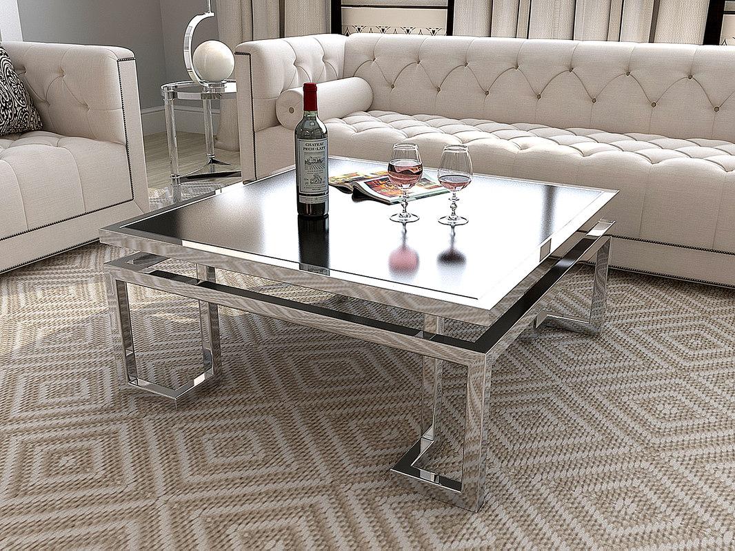 eichholtz palmer coffee table 3d model
