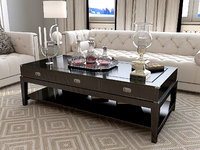 eichholtz military coffee table 3d max