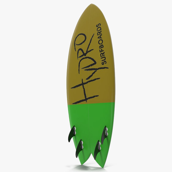 surfboard fish 3ds
