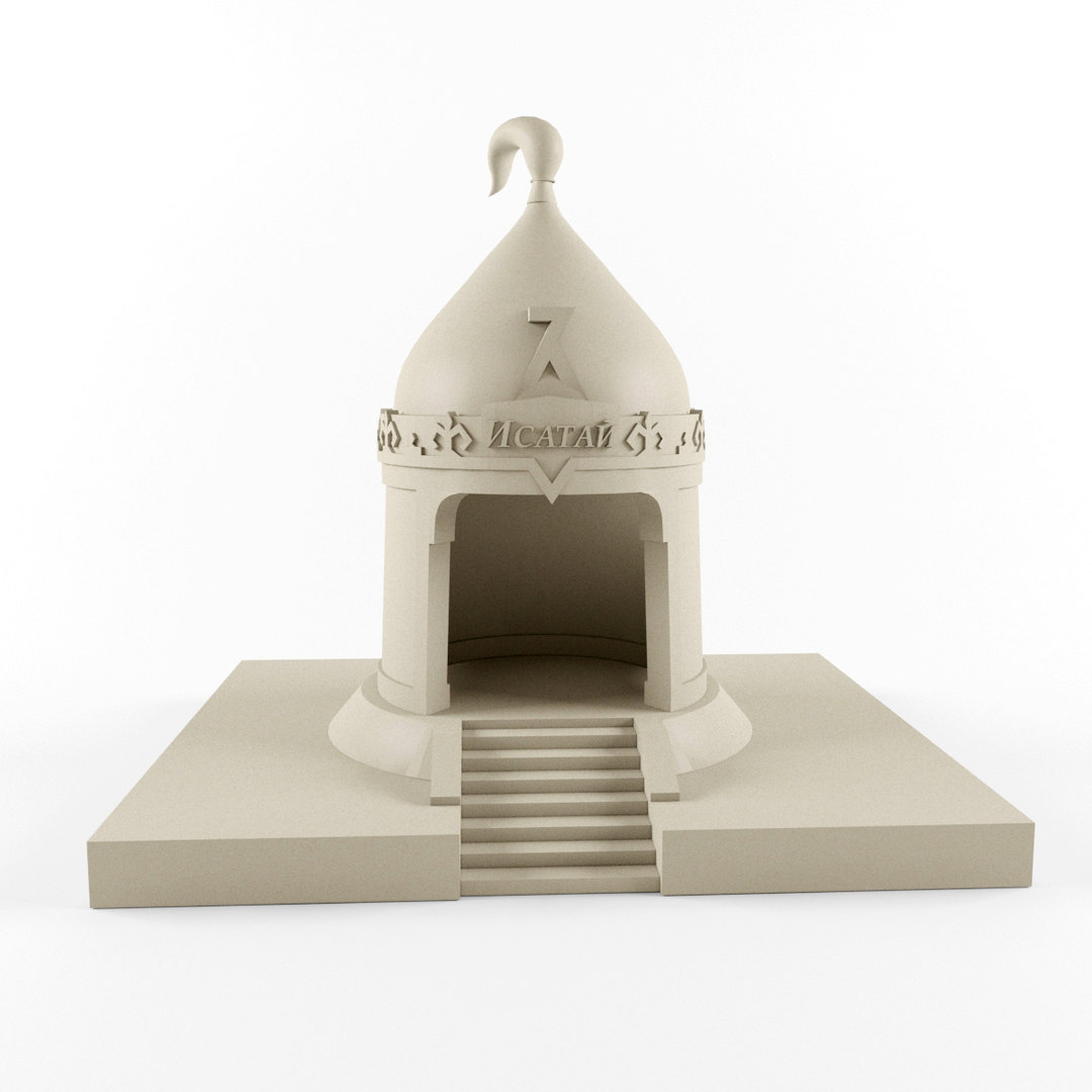 3d kazakhs mausoleum