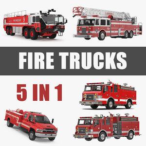 trucks 3 3D model