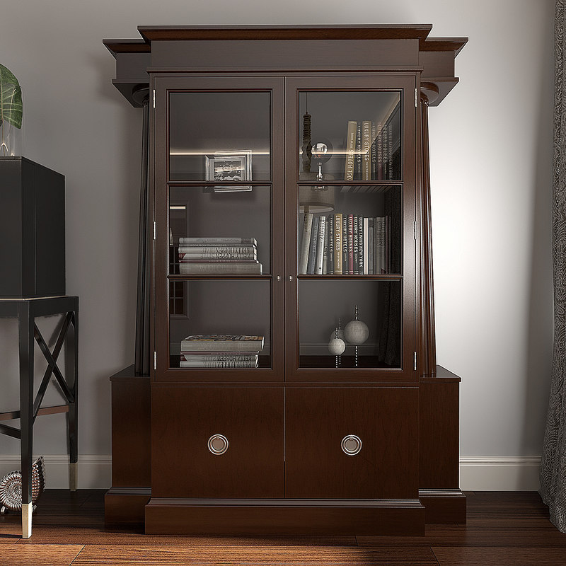 3ds max baker temple cabinet 7871