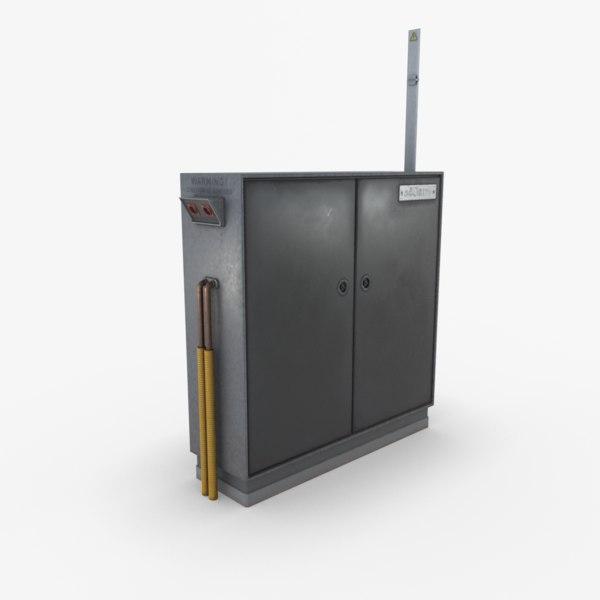 3d model utility box games