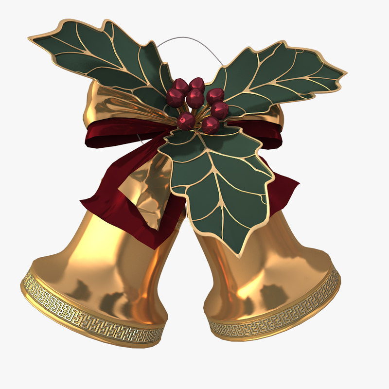 3d 3ds christmas bells