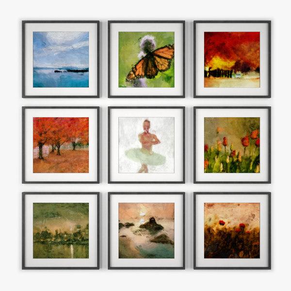 3ds photo wall art