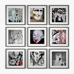 photo wall 3d model
