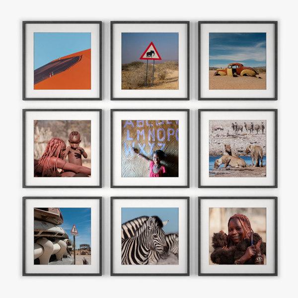 3d photo wall namibia
