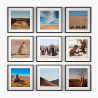photo wall namibia 3d model