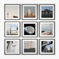 berlin photo wall architecture 3ds