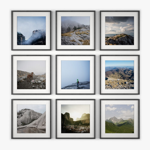 3ds max photo wall nature